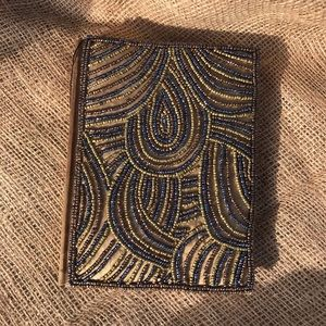 Vintage Mother Earth Satin Beaded Diary 🍂